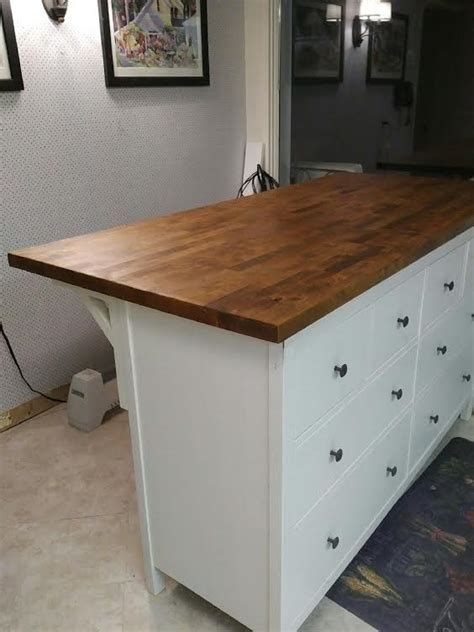 end table with drawer and shelf hemnes karlby kitchen island storage and seating ikea