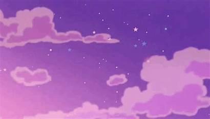Aesthetic Stars Wallpapers Purple Pixel Shooting Retro