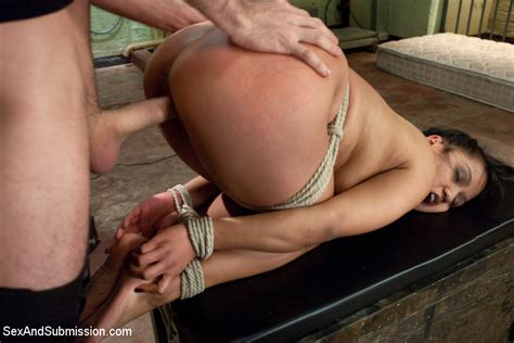 Lana Violet Bound And Fucked At Sex And Submission
