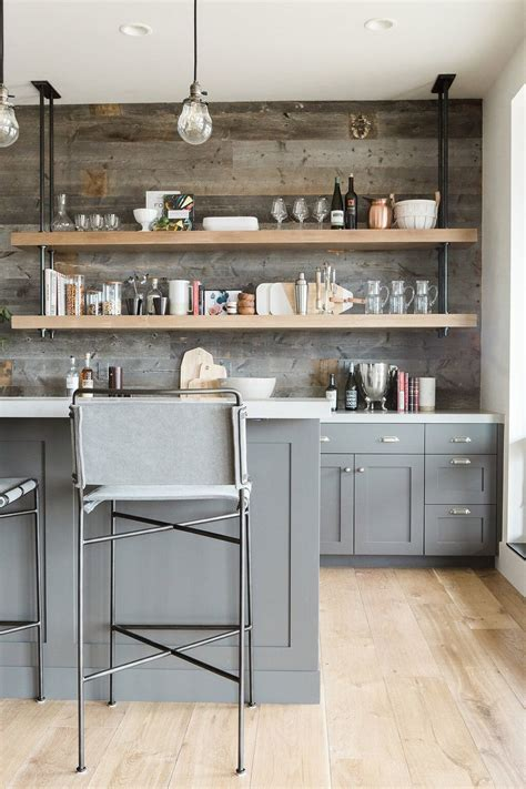 pipe shelves kitchen interior trend open shelving in kitchens patterns