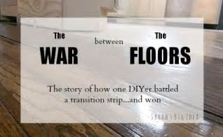 Tile To Carpet Metal Transition Strip by The War Between The Floors How One Diy Er Battled A