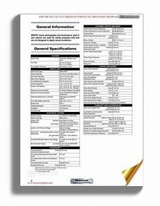 Arctic Cat 2012 Xl450i Xl 450i Service Manual