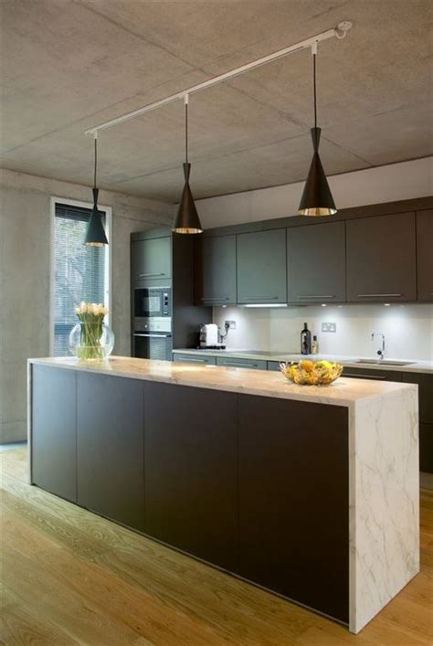 update kitchen lighting an easy kitchen update with pendant track lights 3084