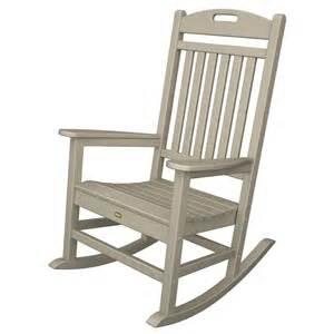 trex furniture yacht club rocking chair casual rocker