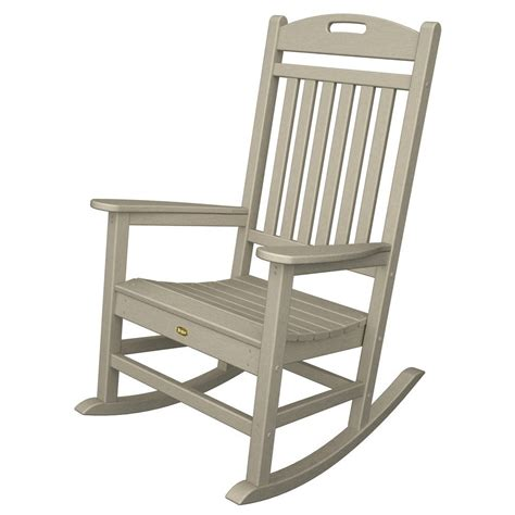 trex furniture yacht club rocking chair casual rocker
