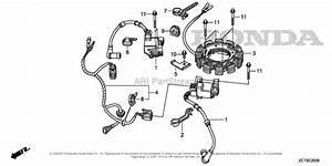 Honda Engines Gxv690rh Taf2 Engine  Chn  Vin  Gjaeh
