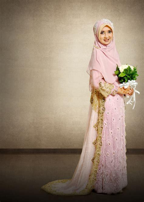inspirasi hijab  pernikahan  berkonsep syari