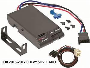 2015-2017 Chevy Silverado Drawtite Activator Trailer Brake Control  2plug Wiring