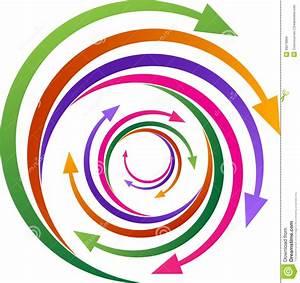 Rotation Arrows Stock Vector