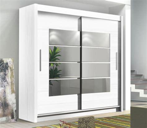 Wide White Wardrobe by 163 299 Room4 Modern Large Wide 2 Sliding Door