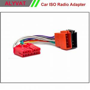 Car Iso Radio Adapter Connector For Daewoo Nexia Espero 1995  Wiring Harness Auto Stereo Adaptor