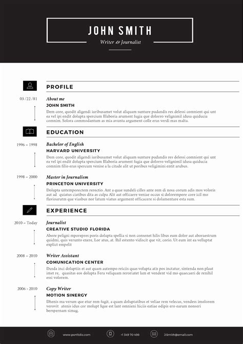 11 beautiful eye catching resume templates resume sle