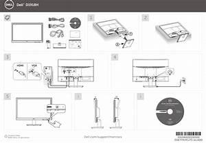 Dell D1918h Monitor Quick Start Guide User Manual Setup En Us