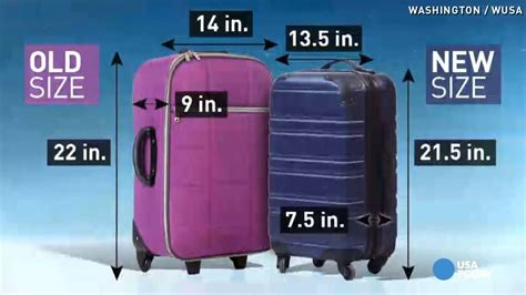 aircraft cabin luggage size airlines want to shrink size of carry on bags