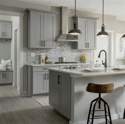 21+ Stunning Kitchen Cabinets Gray