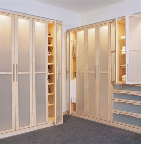 Unique Closet Doors With Cream Walls Walkin Wood Floors