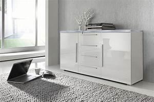 Kommode Mit Glasplatte : sideboard anrichte kommode wei fronten hochglanz ~ Lateststills.com Haus und Dekorationen