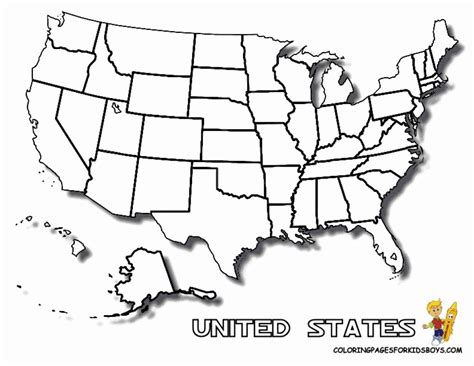 coloring pages united states coloring home