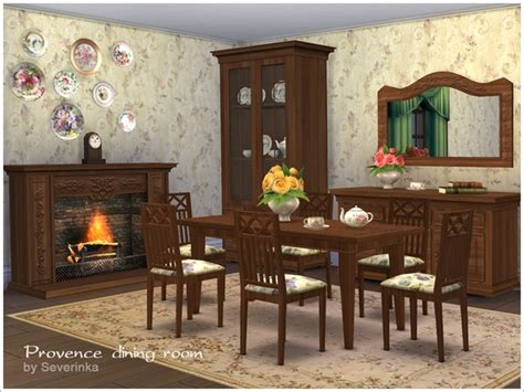 provence dining room provence dining room by severinka at tsr 187 sims 4 updates