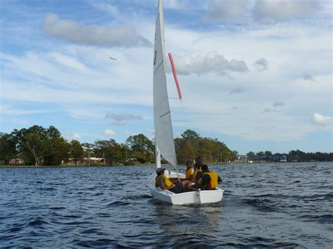 The Boat Of Ra Sails Straight Today by New Bern High School Naval Junior Rotc Sailing Fall 2011