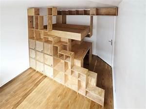Faire Une Mezzanine : une mezzanine sur mesure pour une petite chambre ~ Melissatoandfro.com Idées de Décoration