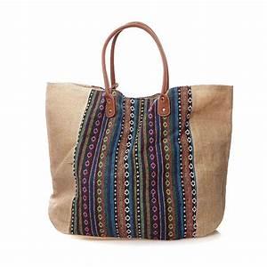 Pochette De Sac : molly bracken sac de plage avec pochette brandalley ~ Teatrodelosmanantiales.com Idées de Décoration