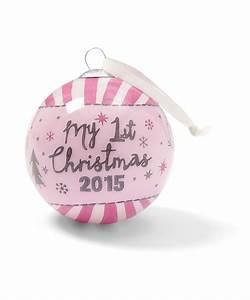 Ma Premiere Boule De Noel : mamas papas boule de no l rose mon premier no l 2015 cadeau de naissance ~ Teatrodelosmanantiales.com Idées de Décoration