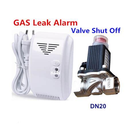 Gas Detector Sense Leak Natural Lpg Alarm Electrovalve