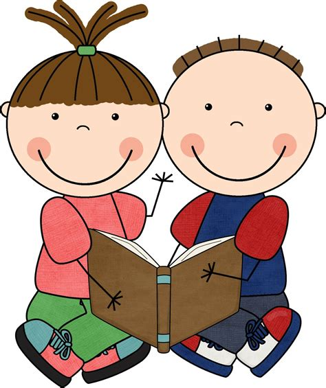 clip on reading l free children clipart images clipart best