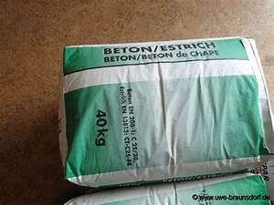 Beton Estrich Berechnen : betonestrich obi mischungsverh ltnis zement ~ Watch28wear.com Haus und Dekorationen