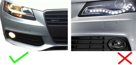 audi a4 b8 b8 5 p13w xenon white smd led bulbs drl