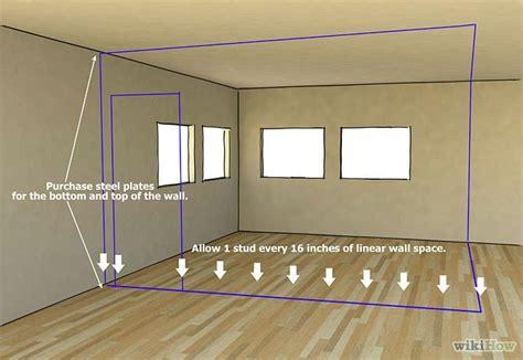 install metal studs metal stud framing framing basement