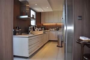 Eclairage Plafond Cuisine : eclairage faux plafond cuisine clairage parquet mur en ~ Edinachiropracticcenter.com Idées de Décoration