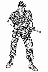 Soldier Coloring Military Pages Army Cool Template Marching Soldiers Templates Sheets Popular Coloringhome Adults sketch template
