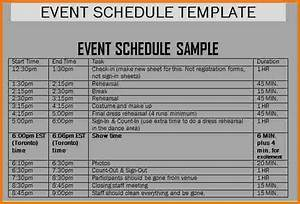 schedule of events template authorization letter pdf With wedding day schedule of events template