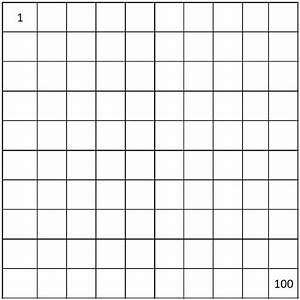 free worksheets printable number chart 1 100 free math With template for numbers 1 100