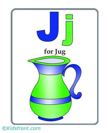 jug alphabet coloring pages alphabet preschool coloring pages  kids