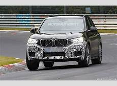 2019 BMW X3 M spy shots and video