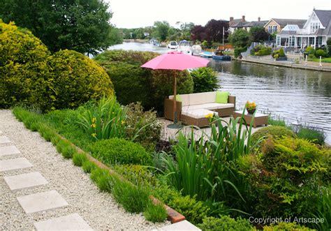 garden exles photos riverside garden design berkshire artscape
