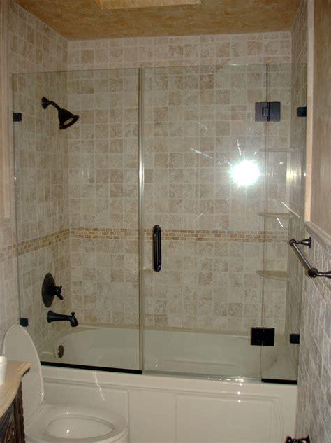 Glass Shower Door Tub Enclosure