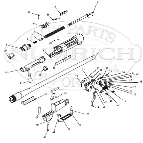 mauser field  accessories numrich gun parts