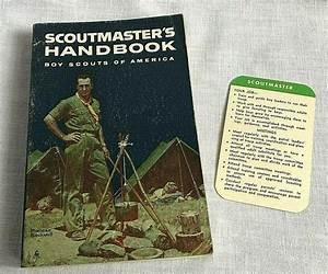 1963 Scoutmaster U0026 39 S Handbook Boys Scouts Of America Leader