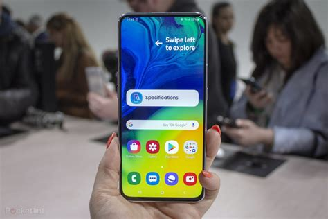 samsung galaxy a80 initial review will the automatic rotating