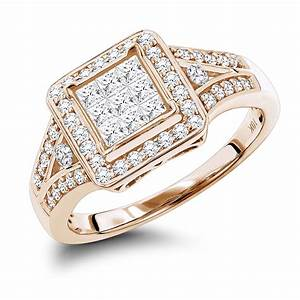 affordable engagement rings 10k gold round and princess With 10k wedding rings