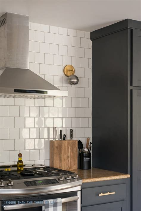 kitchen reveal  dark cabinets  open shelving