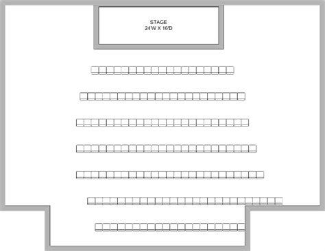 Theatre Style Seating Plan Template by Theatre Style Seating Best Seat 2018