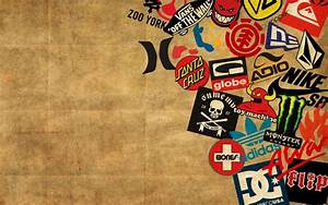 Skateboard Logos , QUIKSILVER, ToyMachine, ZOO YORK, VANS ...