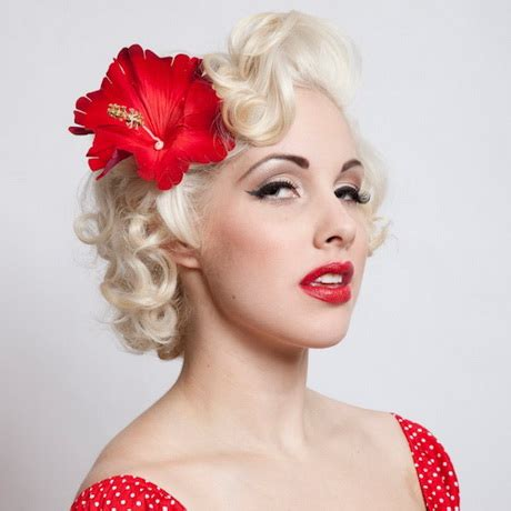 1950s Pin Up Hairstyles For Hair by Pin Up Hairstyles For Hair