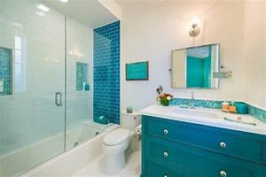 stunning salle de bain turquoise images awesome interior With carrelage salle de bain turquoise