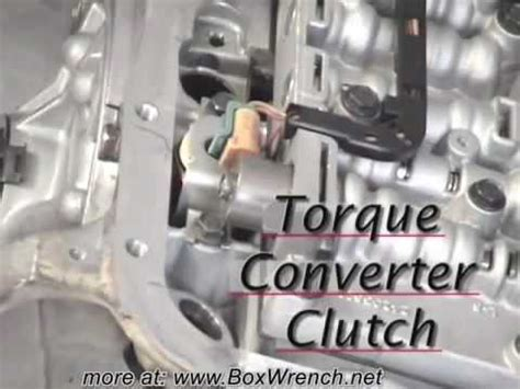 automatic transmission valve body removal youtube